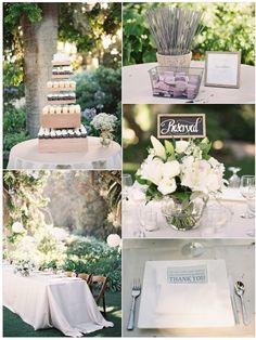 Inspirational Wedding Ideas #91: Green, White and Gray