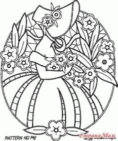 ru / Photo # 43 – Contours for needlework – irgelena - Stickerei Ideen Sewing Machine Embroidery, Cutwork Embroidery, Vintage Embroidery, Cross Stitch Embroidery, Embroidery Designs, Colouring Pages, Adult Coloring Pages, Doodle Designs, Colorful Drawings