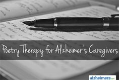 Poetry Therapy for Alzheimer's Caregivers