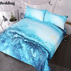 Watercolor Bedding Set