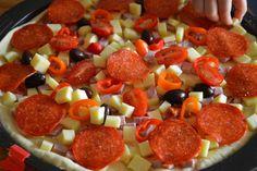 Pizza casei - LauraSweets.ro Mozzarella, Pizza