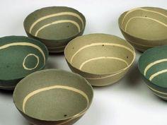 pots by Charlotte Jones.