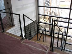 Projects: Residential: Interior Railings