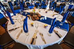 Royal Blue Wedding Decor Keywords: #weddings #jevelweddingplanning Follow Us: www.jevelweddingplanning.com  www.facebook.com/jevelweddingplanning/