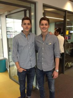@Jack Harries & @Finn Harries here at @FacebookLondon for our Showcase Event :) #AntiBullyingPro