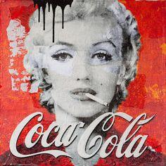 """Résultat de recherche d'images pour """"coca cola MARILYN"""""""