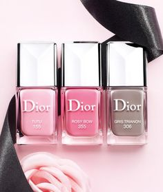 Dior Cherie Bow SS13 Nails