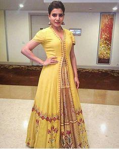 #samanthaprabhu #AnitaDongre #Bridal #couture #gotapatti #lehenga #orange #rajasthan #handcrafted #handmade #luxury #couture