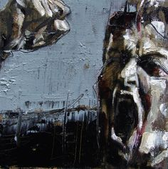 Guy Denning (English self taught contemporary artist/painter based in France. He is the founder of The Neomodern Group and part of the urban art scene in Bristol. Portrait Art, Portraits, Famous Artists, Urban Art, Dark Art, Contemporary Artists, Drawing S, Painting Inspiration, Art Pieces