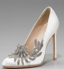 Manola Blahnik perfect wedding shoes