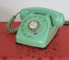 Vintage Automatic Electric Rotary Telephone by CanemahStudios, $70.00