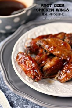 Root Beer Chicken Wings | Real Housemoms