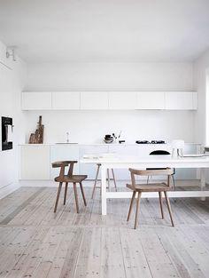 Interieur inspiratie: Witte keuken
