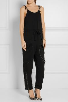Tom Ford | Silk-georgette jumpsuit | NET-A-PORTER.COM