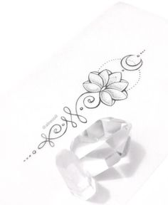 Unalome Tattoo Significado Fotos e Ideias! Little Tattoos, Love Tattoos, Beautiful Tattoos, Body Art Tattoos, Tattoos For Women, Tatoos, Unalome Tattoo, Sternum Tattoo Lotus, Tattoo Hand