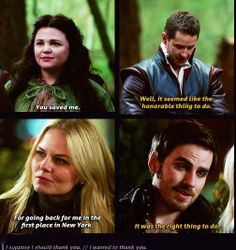 Parallels. Snowing and Captain Swan