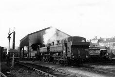 3690 & 9631 Merthyr Shed both Collett 5700 class-XL Steam Trains Uk, Panniers, Steam Railway, British Rail, Great Western, Steam Engine, Steam Locomotive, South Wales, Sheds