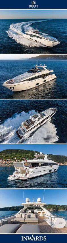 Ferretti Yachts 960 - exterior | Sporty features & top performances