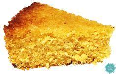 Gâteau fondant au citron et à la polenta