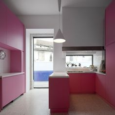 735mm kitchen cabinets 1000 images about cocinas rosas on pink 10357
