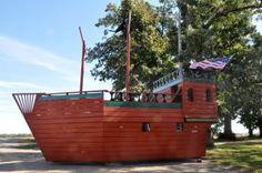 Pirate ship playhouse