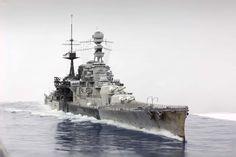 HMS BC Repulse 1941 350 Trumpeter (modelshipgallery) 7.30.15 Thu