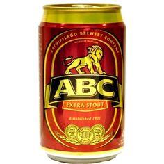 Cerveja ABC Extra Stout, estilo Foreign Extra Stout, produzida por Singapore Brewery, Cingapura. 7% ABV de álcool.