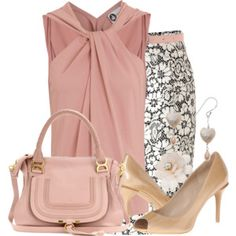 Love everything about this outfit except the shoes. *Pinned For Pic