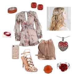 """""""Lovely in pink"""" by pvazquez311 on Polyvore featuring Zimmermann, Madden Girl, nooki design, Kate Spade, Lord & Taylor and Bling Jewelry"""