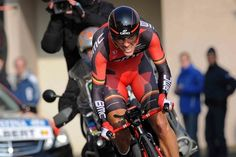 Philippe Gilbert, a former Belgian national time trial champion, finished 34th.