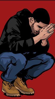 Trap x Hip Hop Instrumental Drake Type Beat Arte Hip Hop, Hip Hop Art, Drake Art, Drake Wallpapers, Trill Art, Dope Cartoons, Aubrey Drake, Supreme Wallpaper, Art Graphique