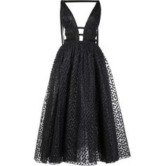 Carolina Herrera sequinned flared maxi dress (8,890 CAD) ❤ liked on Polyvore featuring dresses, black, sequin embellished dress, carolina herrera, flared dresses, flare dress and maxi dresses