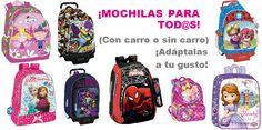 En #PapeleriaMiguelturra tenemos #mochilas para todos! ven a verlas! www.papeleriamiguelturra.com