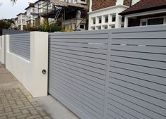 exterior wall fence designs - Google Search
