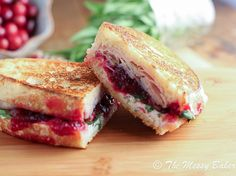 Turkey & Cranberry Panini with Goat Cheese