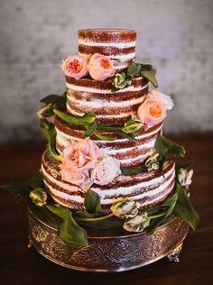 red velvet naked cake | Rebecca Read