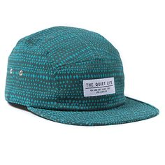The Quiet Life Misato 5-Panel Cap - Marina Blue at Urban Industry