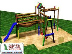 diseamos fabricamos e instalamos parques de madera inmunizada al vaco presin ademas