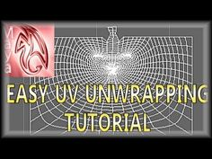 Autodesk Maya Tutorial: Very Easy UV Unwrapping Method & How It Works! (...