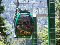 Sky Trail at the Trees of Mystery.  Located near Crescent City, California in the town of Klamath. exploredelnorte.com