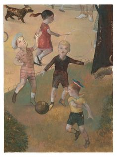 Gerard DuBois/ Marlena Agency Serge Bloch, 4 Kids, Children, Tim Walker, Childhood, Animation, Fine Art, Illustration, Prints