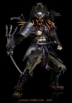 Samurai Predator - Takayuki Takeya