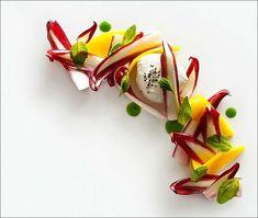 Une petite salade fraîcheur… Belle à croquer ! ;) (From Francesco Tonelli) > Photo  comme un chef...