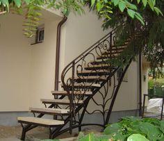 Imagini pentru scari din fier exterioare pret
