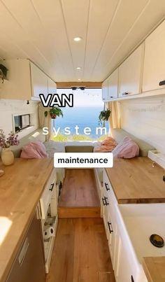 Build A Camper Van, Tiny Camper, Camper Life, Campers, Sprinter Van Conversion, Camper Conversion, Bus House, Tiny House, Van Storage