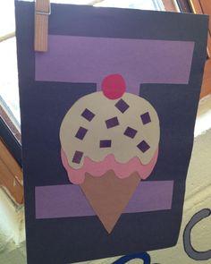 Preschool Letter I craft Letter I Crafts, Preschool Letter Crafts, Alphabet Crafts, Alphabet Activities, Preschool Activities, Crafts For Kids, Arts And Crafts, Letter Of The Week, Alphabet And Numbers