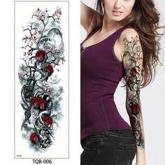 - Weekend Tattoos United Kingdom Temporary Tattoos Health & Beauty Wochenend-Tätowierungen Ve - Arm Sleeve Tattoos, Full Sleeve Tattoos, Sleeve Tattoos For Women, Full Tattoo, Tattoo Small, Great Tattoos, Body Art Tattoos, Girl Tattoos, Woman Tattoos