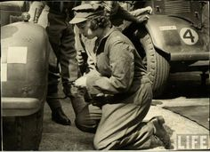 Queen Elizabeth II Serves As A Mechanic During World War 2