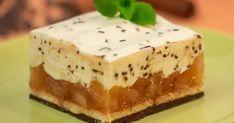 Jabłkowa chmurka na herbatnikach - Pyszności Polish Recipes, Cheesecake, Food, Polish Food Recipes, Cheesecakes, Essen, Meals, Yemek, Cherry Cheesecake Shooters