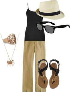 """""""Casual Summer"""" by flobauchau on Polyvore"""